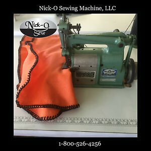 Rebuilt Merrow 18 e Blanket Stitch Sewing Machine