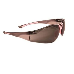 Woman Pink Frame Dual Comfort High Performance Protective Safety Glasses