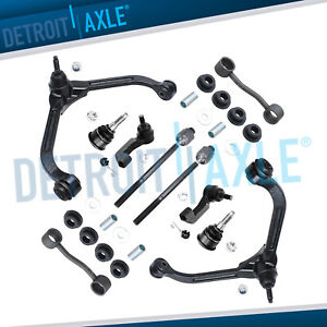 10pc Front Upper Control Arm Suspension Kit For 2002 2003 2004 Jeep Liberty