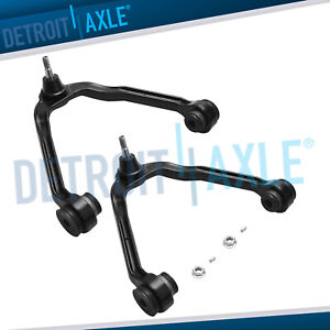 2 Front Upper Control Arm With Ball Joint 1999 2006 Silverado Sierra 1500 Gmc
