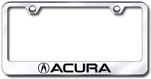Acura Laser Etched Stainless Steel License Plate Frame Auglfacuec