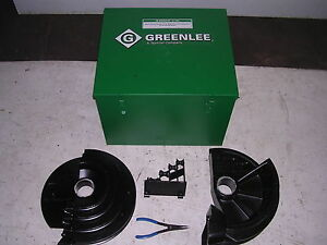 New Greenlee 854 855 Quad Smart Conduit Pipe Bender Pvc Coated Shoe Group 1 2 2