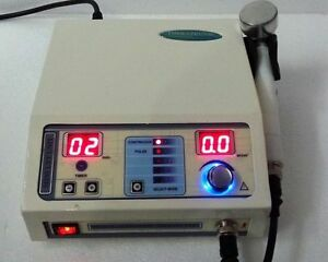 Chiropractic Ultrasound 1mhz Therapy Machine Pain Relief Physical Therapy Unit