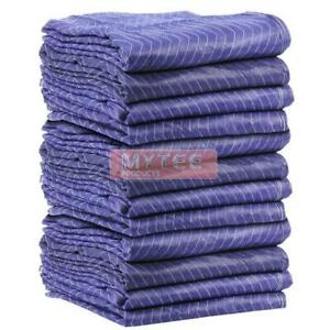 65lbs Non Woven Economy Moving Blankets Pads 72 x80 1 Dozen