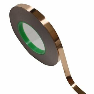 1 2 X 55 Yds 12mmx50m Copper Foil Tape Emi Conductive Adhesive Ship From Usa