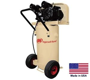 Air Compressor Commercial 20 Gallon 2 Hp 110 115v 1 Ph 5 5 Cfm 90 Psi