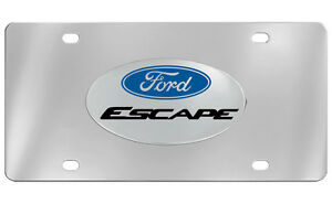 Ford Escape Decorative Vanity Front License Plate