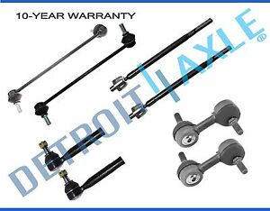 Tie Rod And Sway Bar Link For 2004 2005 2006 2007 2009 2009 Nissan Quest