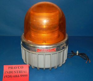 Commander Federal Signal 371dst Amber Warning Strobe 120volt 35amp Series A1