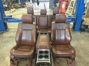 2016 Ford King Ranch Seats