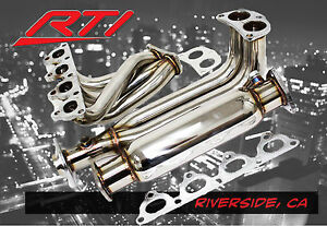 88 00 Honda Civic Ek Em 4 2 1 Header High Flow Cat Stainless Steel Sohc D15 D15