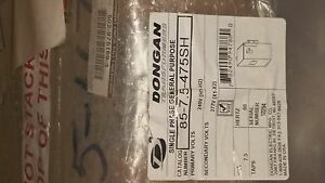 Dongan 7 5 Kva Single Phase General Purpose Transformer Nib