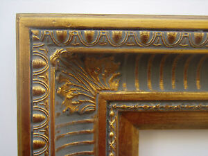 Wide Gold Ornate Hudson River Ribbed Cove Portrait Photo Picture Frame 18x24
