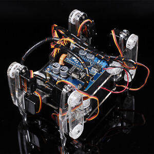 Sunfounder Arduino Kit Diy Wireless Telecontrol Crawling Quadruped Robot