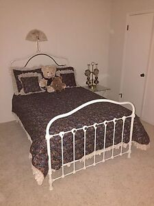 Antique Brass Iron Bed
