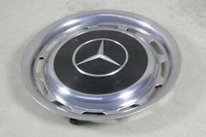 1969 1972 Mercedes Benz Wheel Cover Hubcap Black 450 Sel 240d W113 Oem