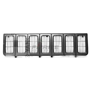 Grille Black For 1996 1998 Jeep Grand Cherokee Sport 4 Door 5 2l Ch1200193