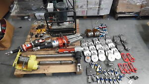 Holmatro Rescue Tools Jaws Of Life Cutter Spreader Ram Pump Pulley Accessories