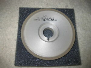 Diamond Grinding Wheel Saucer 15a9 100mm X 9 16 X 20mm Kw 180 Grit New