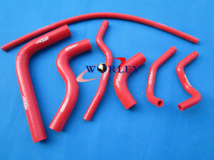 Silicone Radiator Heater Hose For Suzuki Samurai 1986 1995 87 88 89 90 91 Red