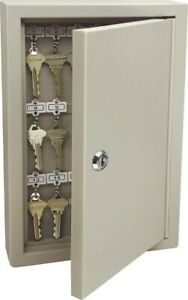 Steel Key Cabinet no 1801 Supra Products Inc