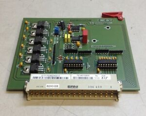 2140 200 2 Control Test Equipment Circuit Electronic Board