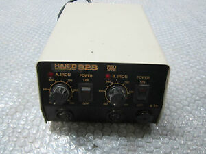 Hakko 928 Soldering Station Esd Safe 110 120volts fully Tested