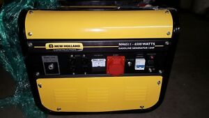 New Holland Gasoline Generator 6500 Watts 13 Hp