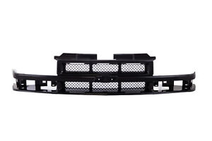 Gm1200413 Front Grille For Chevrolet S10 Black 12471853