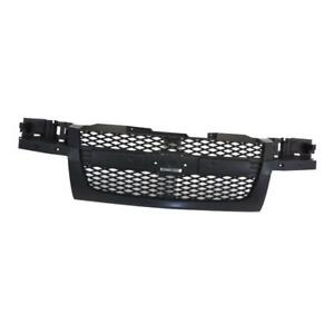 Gm1200560 Front Grille For Chevrolet Colorado Dark Gray 12335790