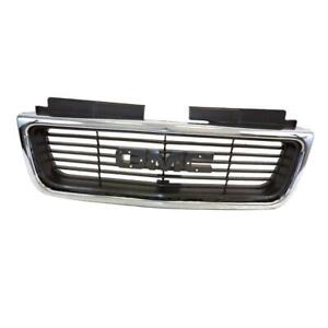 Gm1200422 Front Grille For Gmc Jimmy sonoma Chromed Gray 15015056