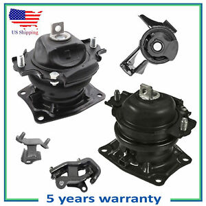 Engine Motor Trans Mount For M420 05 06 Honda Odyssey 3 5l Ivtec Set 5pcs
