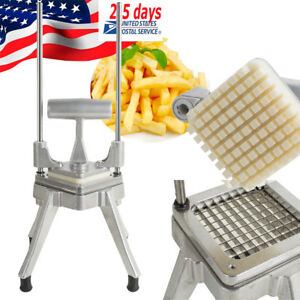 1cm Vegetable Fruit Dicer Onion Tomato Slicer Chopper Restaurant Fast Food Diner