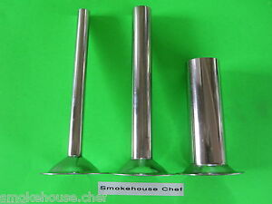 3 Set Sausage Stuffer Tubes Cones For Size 5 Electric Meat Grinder Chopper