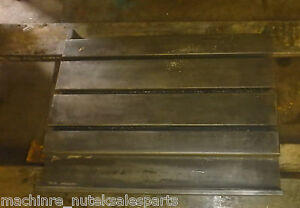 28 25 X 22 375 X 4 75 Steel Weld T slotted Table Cast Iron Layout Plate Weld