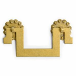 Cbh 2 All Square Chinese Brass Hardware Furniture Pulls 4
