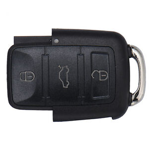 Replacement 3 Buttons Entry Remote Key Fob Shell Case For Volkswagen Golf Jetta