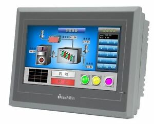 For Xinje Touch Panel 7 Hmi Touch Screen Te765 et New free Usb Cable