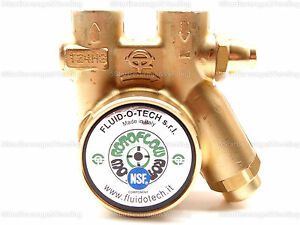 Fluid o tech Brass Rotary Vane Procon Pump With Relieve Vlv 100 Gph New 132285