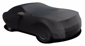 2005 2016 Ford Mustang Car Cover Indoor Satin Black Onyx Fits 2013 Mustang