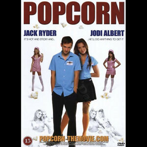 Popcorn NEW PAL Cult DVD Darren Fisher Jack Ryder Jodi Albert Andrew Lee Potts