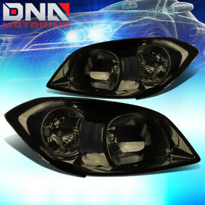 For 05 10 Gm Chevy Cobalt g5 Smoked clear Side Turn Corner Headlamp Head Light