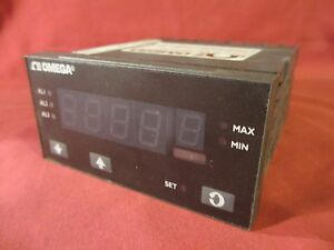 Omega Dp1610 gnr1 24lv Thermocouple process Indicator Digital W Green Display