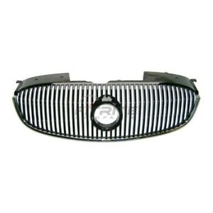 New Front Grille Black Chrome For 2006 2008 Buick Lucerne Gm1200555