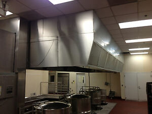 Avtec Commercial Exhaust Hood 10ft X 24ft Dismantled And Ready To Ship No Fan
