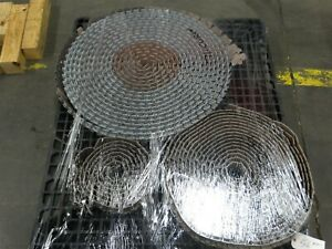 Rexnord Table Top Conveyor Chain 1 Piece Curved 2 Pieces Straight see Desc