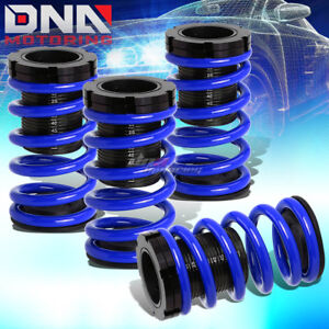 For 01 05 Civic Em2 Es 1 3 Scaled Suspension Lowering Coilover Blue Coil Springs
