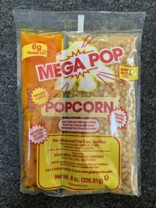 Gold Medal Megapop All In One Popcorn Packets 8 Oz Case Of 36
