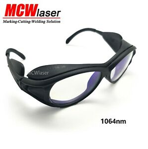 2x Industrial Laser Protection Safety Glasses Goggles For 1064nm Yag Laser Od5
