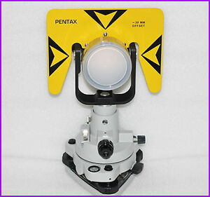 New Yellow Prism Tribrach Set System For Pentax Total Stations 30 0mm Offset